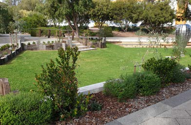 Grove precinct amphitheatre upgrade